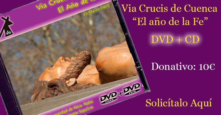 CD+DVD Via Crucis Cuenca 2013